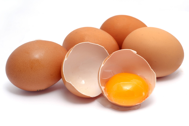 Eggs are bursting with skin-enhancing proteins that help produce collagen (think plumping), melanin (skin hue), and elastin (strong skin).