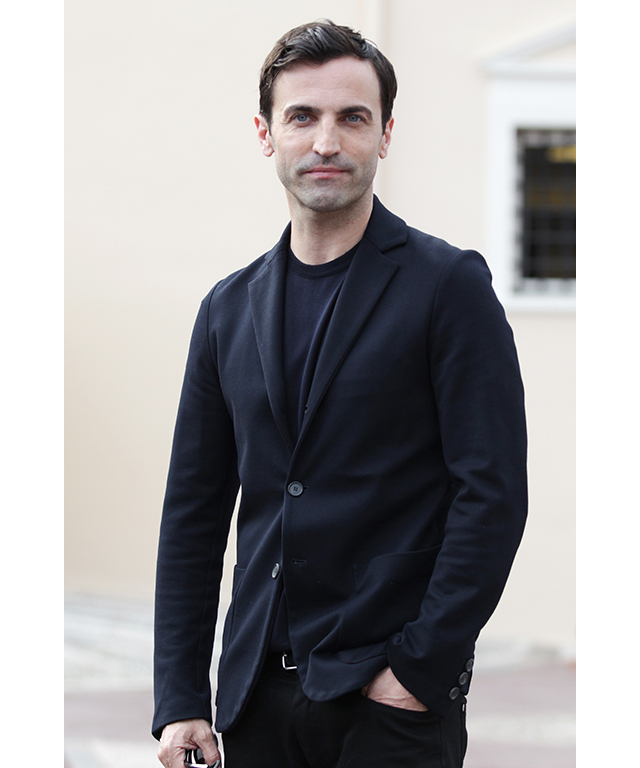 "On Nicolas Ghesquiere:  ""He's really nice, actually. He's always got a show or something on, he's really busy, but he's still always really calm. He's always doing everything, he's very hands-on."""