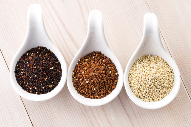 Quinoa is everyone's favourite superfood grain for good reason. Packed with anti-ageing protein, vitamin A, calcium, and zinc, it's the foodie work around for smooth skin.