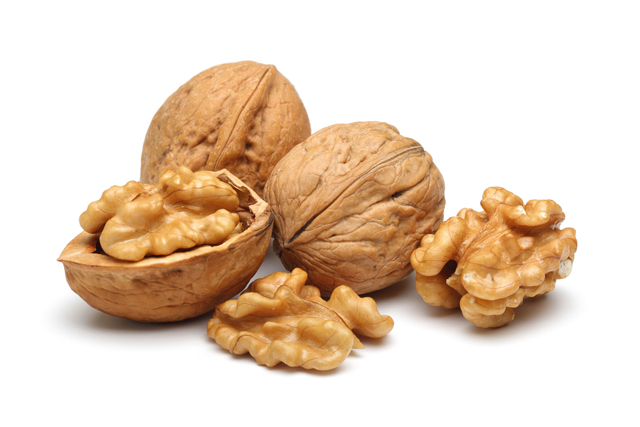 Walnuts - so many skin surface benefits in one petite nut. Omega-3 fats, vitamin E, B vitamins and zinc, they're all here and they're all working towards a wrinkle-free world.