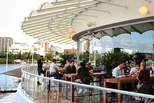 Bavarian Bier Café: Eagle St Pier (Level 1, 45 Eagle Street) and Broadbeach (2 Oracle Boulevard)