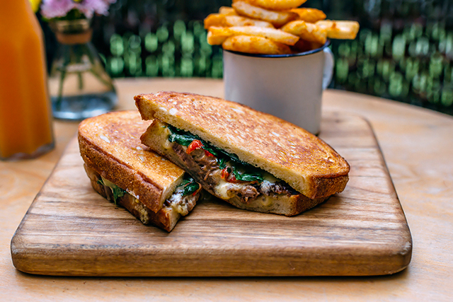 Devon Cafe, Surry Hills, Sydney:  This inner city café puts a Cool Hand Luke spin on dude food – unexpected tastebud hits include their oriental style fried chicken burger, pork done three inventive ways, toasties oozing with blue cheese, and chunked-up fries with serious crunch factor.