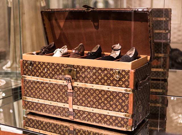 A trunk for every occasion: custom orders are a highlight of the exhibition