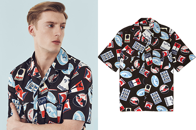 "Maison Kitsuné: ""I particularly like the '50s-inspired cap shirt – it will work hard in your wardrobe."" Available May 24"