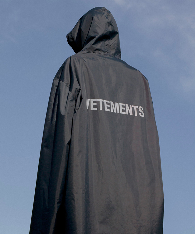 The original Vetements rain jacket