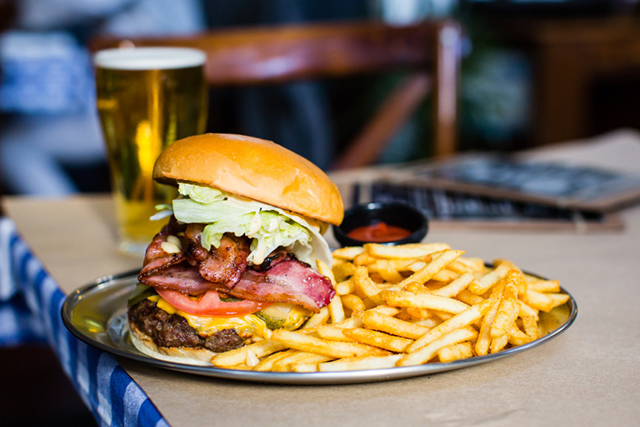 Pub Life Kitchen, Ultimo, Sydney: Pub grub elevated to real man food.  Featuring the usual suspects of sticky chicken wings, fries 'n' gravy, and mac 'n' cheese, plus a list of burgers that'll blow your tastebuds up.
