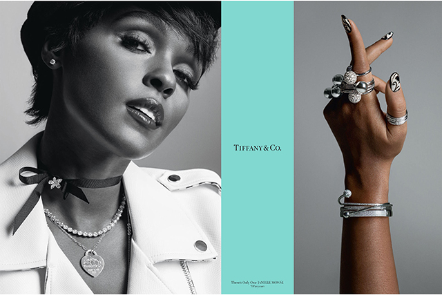 Janelle Monae for Tiffany & Co. A/W '17