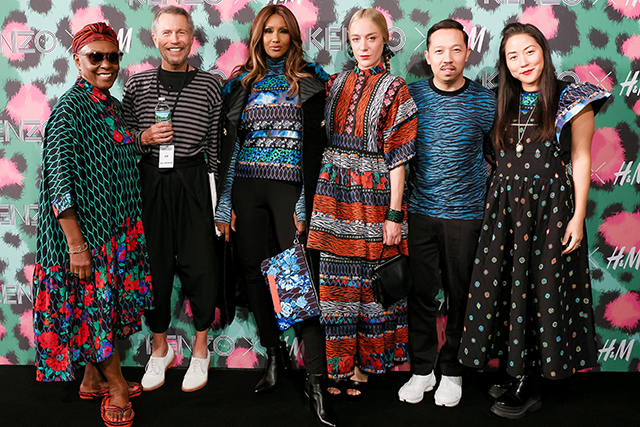 Click though to see all the Kenzo x H&M highlights