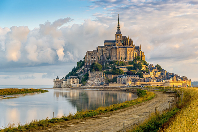 Mont Saint-Michel: A breathtaking Island fort in Normandy better looking than any movie set a designer could dream up. World Heritage listed and one of the most visited places in France for a reason.