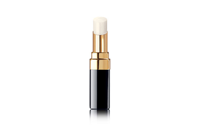 Lip balm: Planes are notorious for sucking the moisture out of you, so keep your lips hydrated with a reliable lip balm to prevent cracked lips for your fabulous holiday. Chanel Rouge Coco Baume, $52