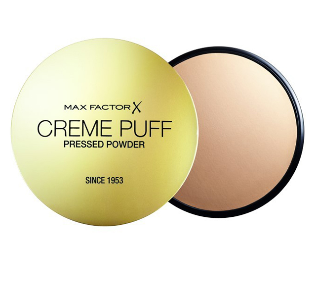 Powder:  Max Factor Creme Puff is an oldie but a goodie as it stays on really well.  Translucent is one of my most used items.