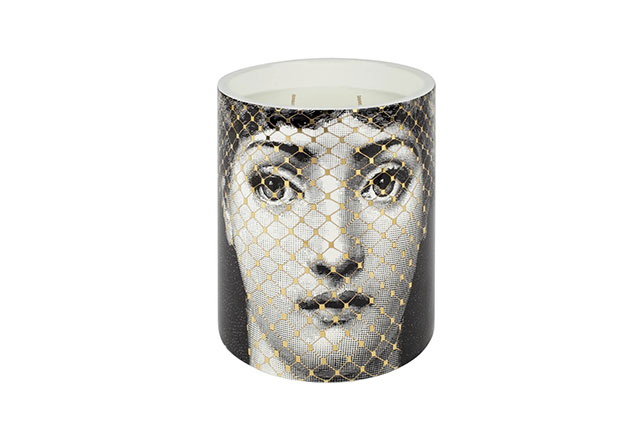 Fornasetti Golden Burlesque Scented Candle, $262 mecca.com.au