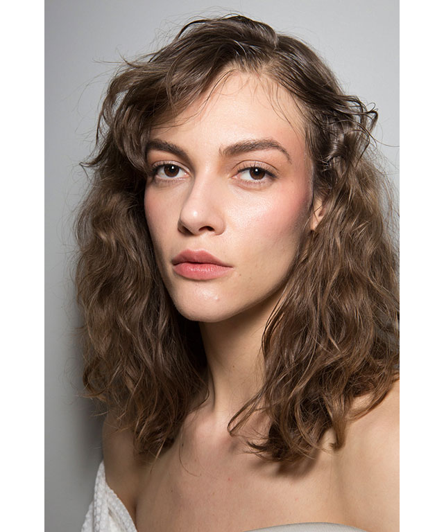 Effortless hair: Nina Ricci
