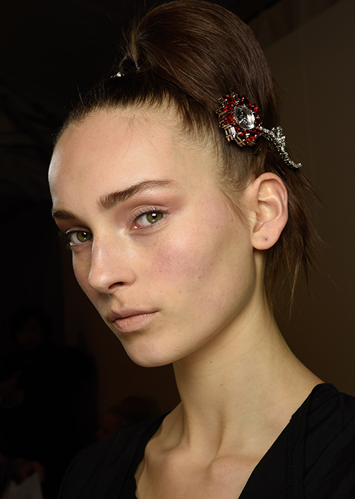 Prada:  Hair jewels