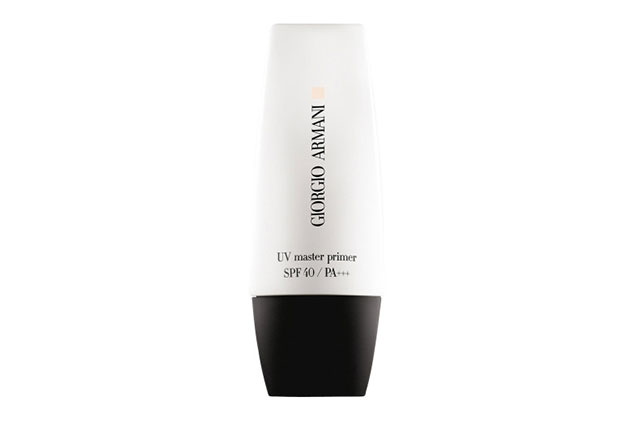 Face primer: You already know that applying a primer before your foundation is the easiest way for your make-up to last longer, but luckily for us, primers are now being integrated with SPF and skincare formulas to work as a multi-tasker for your skin, too. Try: Giorgio Armani, UV Master Primer, $85
