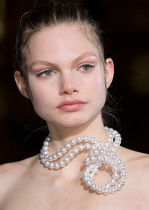 Stella McCartney:  Re-worked pearls
