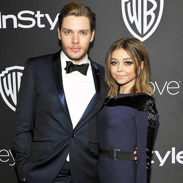 Sarah Hyland and Dominic Sherwood: The couple ended things in April after dating for two years.