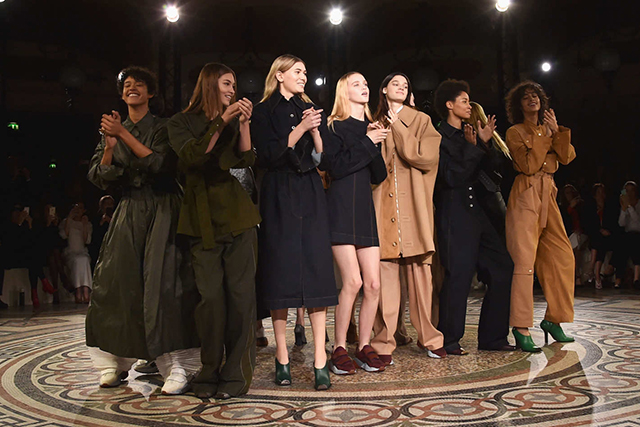 The finale from Stella McCartney's A/W'17 show in Paris