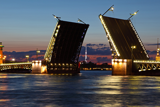 "INSIDER TIP: ""If you happen to be in Saint-Petersburg in summer, stay up until 2am to see the opening of the bridges on the Neva river that let the big ships sail into the ports."""