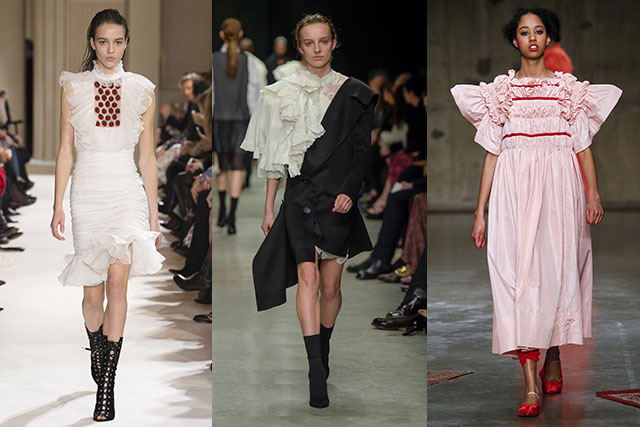 Giambattista Valli, Burberry, Molly Goddard