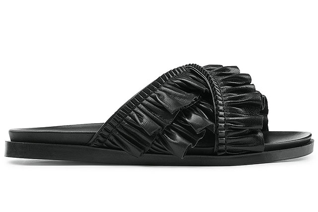 Rochas leather sandals