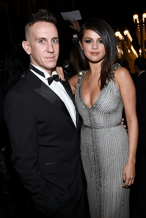 With Jeremy Scott. November 2014