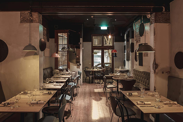 Yellow, Sydney. Despite the sunny name, this Macleay Street standout has the soft focus and dark wood interiors of a bankable date night down pat.