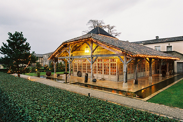 La Table Du Lavoir, Bordeaux, France. In the heart of Bordeaux's vineyards is grape-based spa resort, Les Sources Caudalie. From the skincare products to the drinks and tables - take a seat at their eatery Le Table Du Lavoir to really get your grape on.