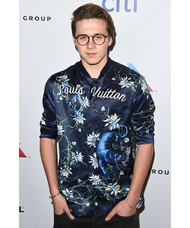 7. Brooklyn Beckham. Age: 17. Claim to fame: The self-assured firstborn of Posh and Becks is so well-connected, he shot the Burberry S/S '16 campaign on Snapchat and now has a very public relationship with US actress Chloë Grace Moretz.