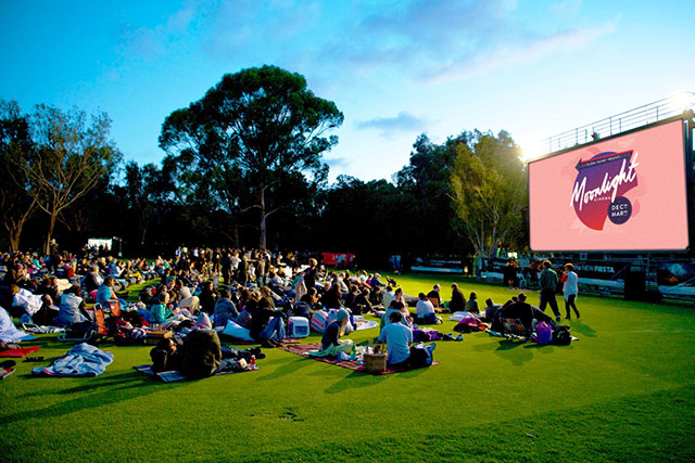 Wednesday, December 16: Already underway in Adelaide, Port Douglas, Sydney, Melbourne and Perth, the Moonlight Cinema pops up in Brisbane tonight. It offers premieres like The Revenant, the comedy Sisters, Star Wars, plus classics like Top Gun.