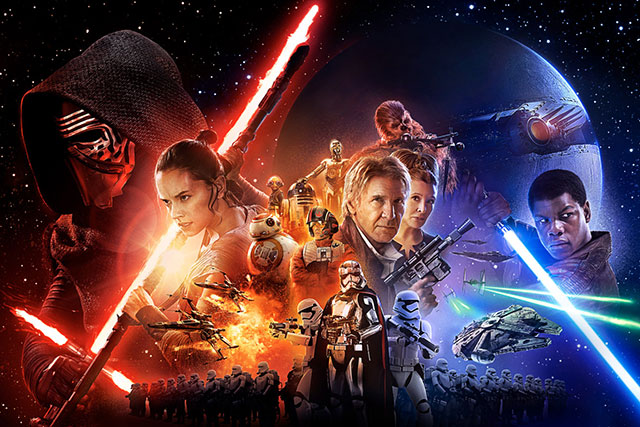 Thursday, December 17: Drop everything, Star Wars: The Force Awakens opens today... WHY ARE YOU STILL EVEN READING THIS? RUN. NOW.