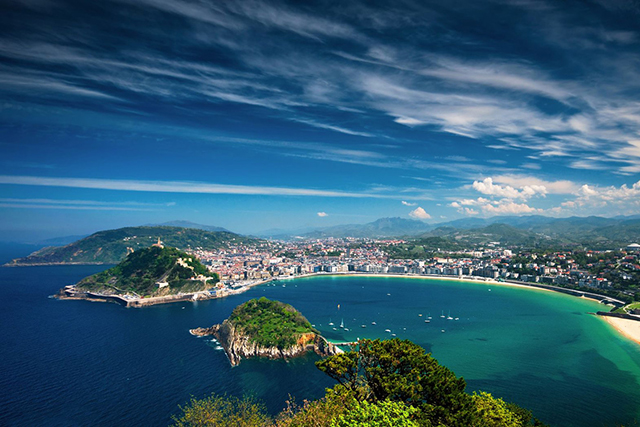 San Sebastian, Spain. Barcelona and Madrid might be popular, but this northern seaside town is set to wrestle some love back. Alongside Poland's Wroclaw, San Sebastian is the joint European Capital for Culture in 2016, which means there's tons to do to.