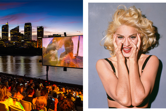Attn: Madonna fans. The 25th Anniversary of Her Highness' documentary, 'In Bed With Madonna', playing tonight at the OpenAir Cinema down at Lady Macquarie's Steps as part of Sydney Gay and Lesbian Mardi Gras.