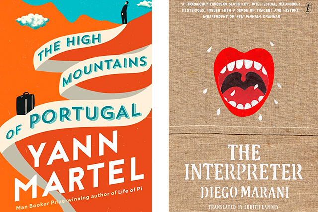 Curl-up this weekend with drops from 'Life Of Pi' writer Yann Martel ('The High Mountains of Portugal'), the erotically wild 'The Passion of Mademoisselle S.' by Jean-Yves Berthault and the thrilling and witty 'The Interpreter by Diego Marani.