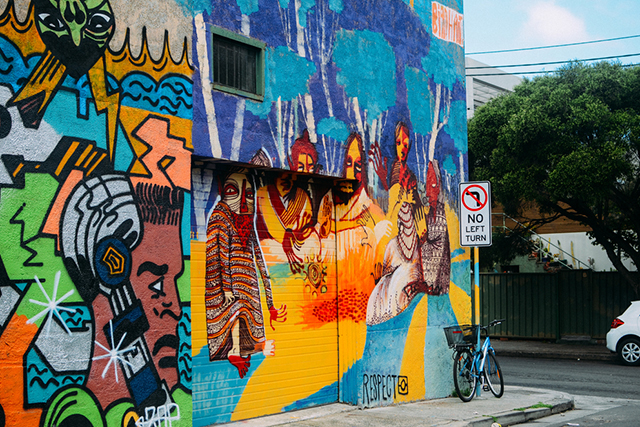 Take a tour of Sydney's vibrant and artful Inner West by signing up to a Culture Scouts tour, which run all-year-round. Today's journey takes you through the art-adorned streets of Newtown and Enmore, wrapping with a craft beer at Young Henry's brewery.