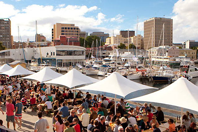 Monday, December 28: What's the foodie way to ring in 2016? Hobart's The Taste Of Tasmania festival. It boasts 70 all-killer-no-filler food and drink stands, live music, DJs and a special NYE celebration. Don't miss MONA's Gilbert & George exhibit, too.