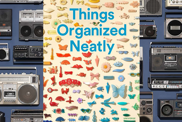 Tuesday, March 29: Calling all obsessives! Embrace your inner compulsions with this very pleasing book based on the viral Tumblr account, which is out this month . It's kinda great. Things Organized Neatly: The Art of Arranging the Everyday.