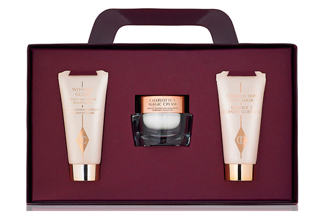 Charlotte Tilbury Christmas gift set: Who doesn't want the gift of perfect skin? Charlotte Tilbury's cult-status Magic Cream and pampering treats will be the perfect antidote to party season indulgences.