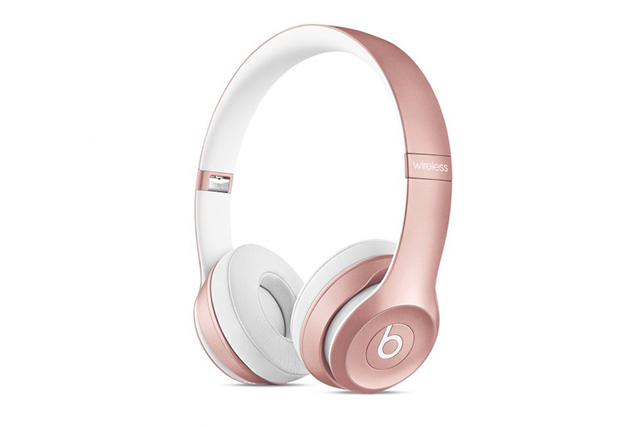 Beats Solo2 Wireless On-Ear Headphones in Rose Gold: As somebody who listens to music 24/7, it's important for me to have headphones that provide premium quality sound. Beats by Dr. Dre is musicians and producers' top choice for good reason.