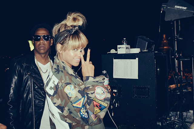 Jay-Z and Beyonce Knowles Carter