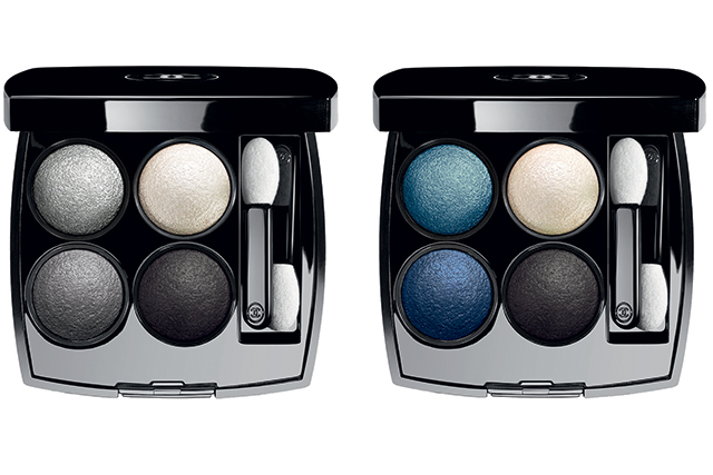 Les 4 Ombres eyeshadow palettes in Tisse Smoky and Tisse Jazz, $98 each