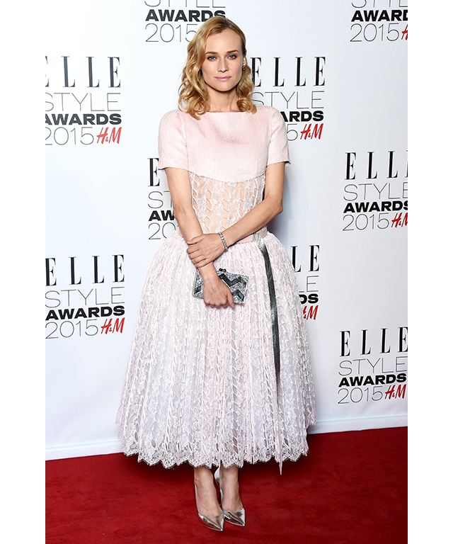 At the Elle Style Awards 2015, February 2015