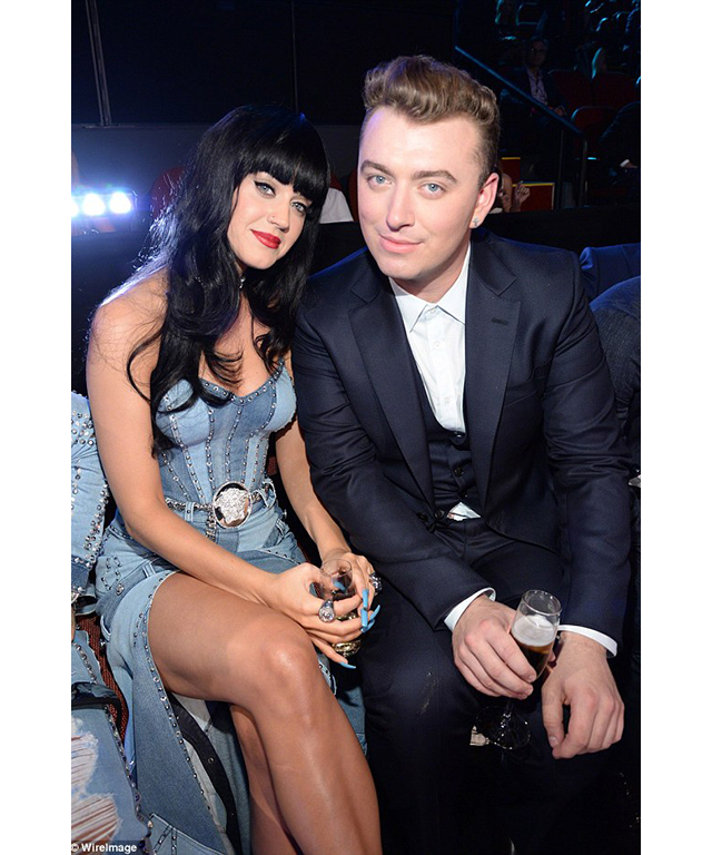 Katy Perry and Sam Smith