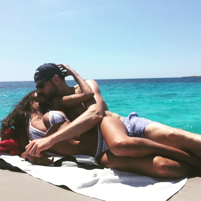 Lais Ribeiro and Jared Homan