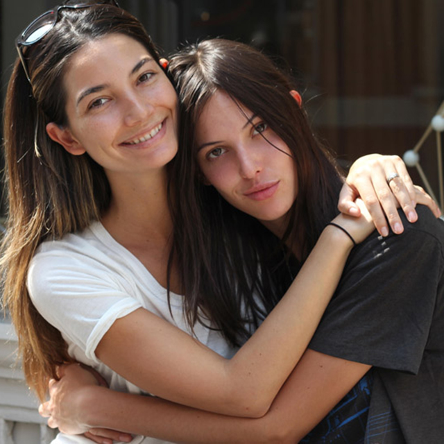 Lily and Ruby Aldridge