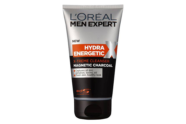 L'Oreal Men Expert Hydra Energetic X-treme Magnetic Charcoal Cleanser, $12.78