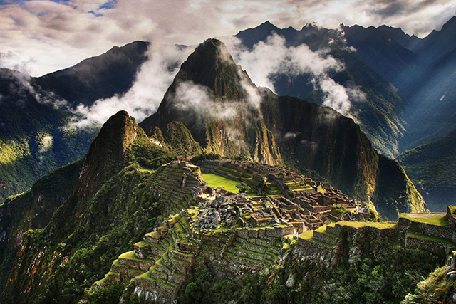 Machu Picchu, the Andes Mountains, Peru