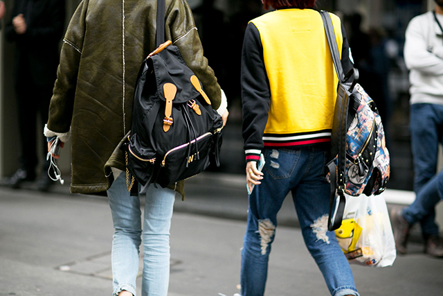 Backpacks: another indie kid '90s favourite.