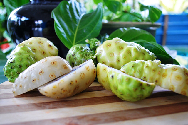 Noni juice. Miranda Kerr's favourite supplement has powerful anti-oxidant and anti-inflammatory properties. It doesn't have a great flavour, so it's best consumed as a shot!