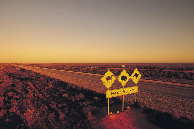 Across the Nullabor Plains: The Australian Outback is rich in road trips – just don't watch Wolf Creek before you set off.